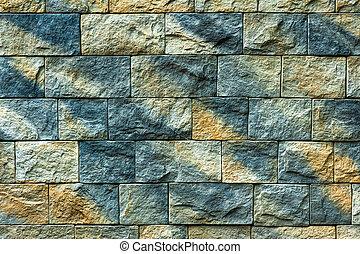 mattone, fondo, struttura, parete, vecchio