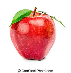 maturo, mela rossa