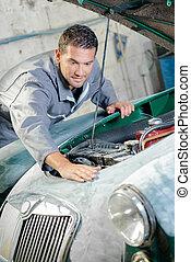 meccanico automobile, lavorativo