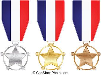 medaglie, francia
