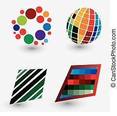 media, logos, mondo, pixel