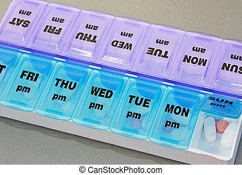 medicina, organizzatore