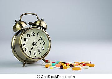 medicina, tempo