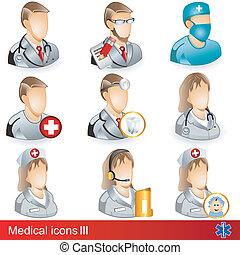medico 3, icone