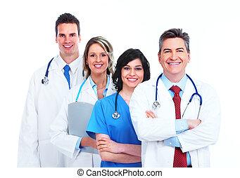 medico, group., dottori