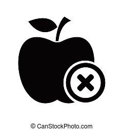 mela, icona