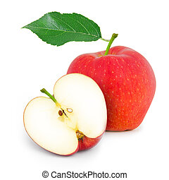 mela, isolato