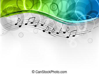 melodia, fondo