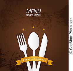 menu, premio, qualità, ristorante