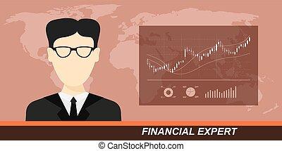 mercato finanziario, esperto, casato