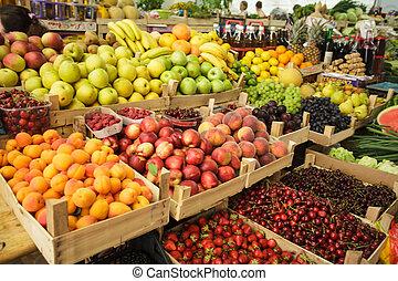 mercato, frutte