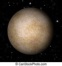 mercurio, astratto, struttura, pianeta, generare, fondo