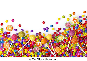 mescolato, dolci, colorito