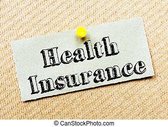 messaggio, assicurazione, salute