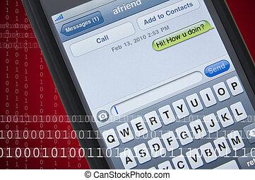 messaggio testo