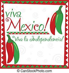 messicano, indipendenza, day!