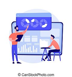 metafora, concetto, analisi, vettore, statistica, dati