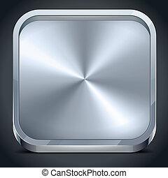metallico, icona