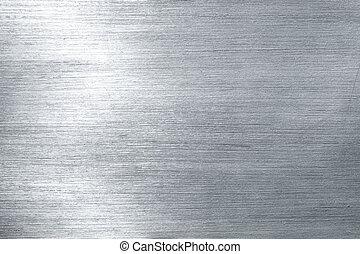 metallo spazzolato, piastra