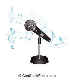 microfono, illustrazione