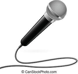microfono, karaoke