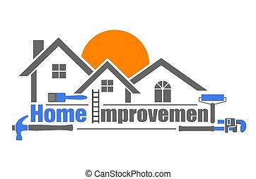 miglioramento, casa
