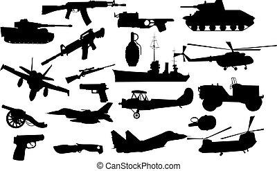 militare, oggetti