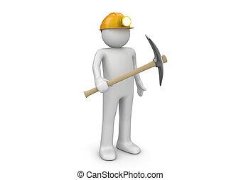 minatore, lavorante, -, collezione