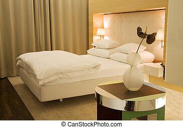 minimalistic, camera letto