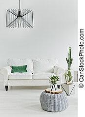 minimalistic, stanza, vivente