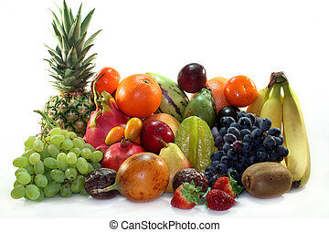 miscelare, frutta