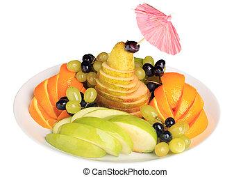 miscelare, frutte