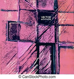 miscelare, viola, media, paper., eps, originale, fondo., vettore, 8, version., pittura, astratto