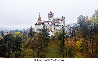 misterioso, crusca, castello