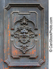 misterioso, porta