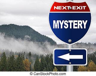 mistero, segno strada
