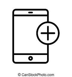 mobile, aggiungere