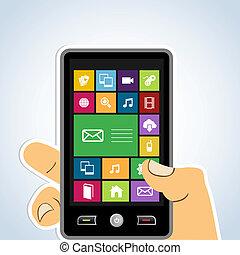 mobile, domanda, diversità