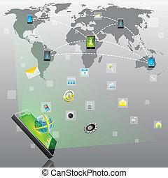 mobile, domanda