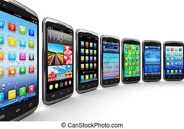 mobile, domande, smartphones
