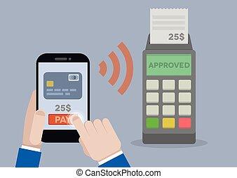 mobile, pagamento