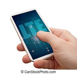 mobile, smartphone, lte, internet
