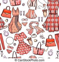 moda, bags., style., design., blu, biancheria intima, modello, seamless, struttura, accessori, bianco, reggiseno, donna, color., fascino, gioiello, oggetti, vestiti, infinito, romantico, luce