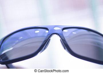 moda, occhiali da sole, mens