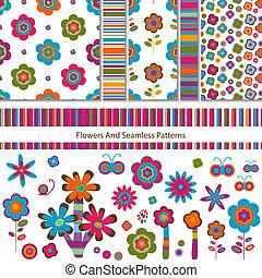 modelli, fiori