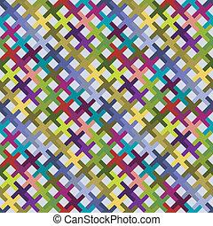 modello, astratto, diagonale, colorito