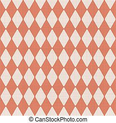 modello, astratto, seamless, sbiadito, arancia, geometrico