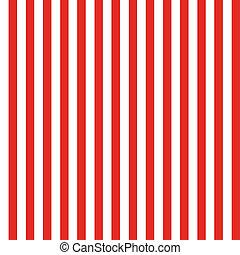 modello, bianco, seamless, striscia rossa