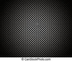 modello, cerchio, sfondo nero, struttura
