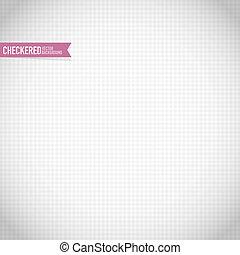 modello, checkered, morbido